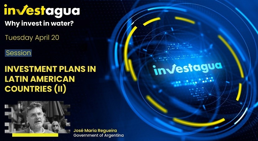 """J.M. Regueira at INVESTAGUA: """"Due to COVID-19, water investments increased by 200% in Argentina"""""""