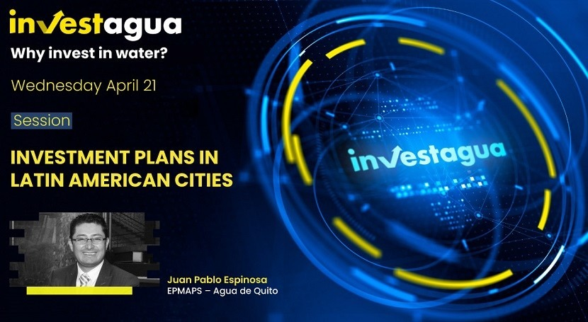 """Juan Pablo Espinosa at INVESTAGUA: """"Quito needs $900 million to clean up its rivers"""""""