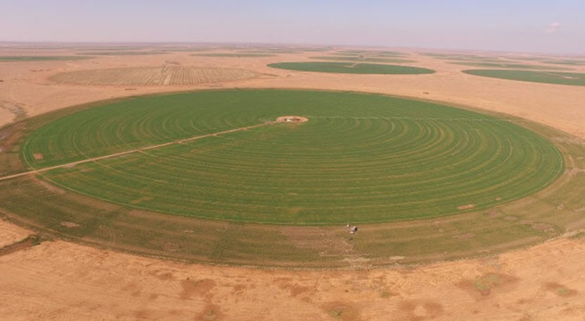 Monitoring precious groundwater resources for arid agricultural regions