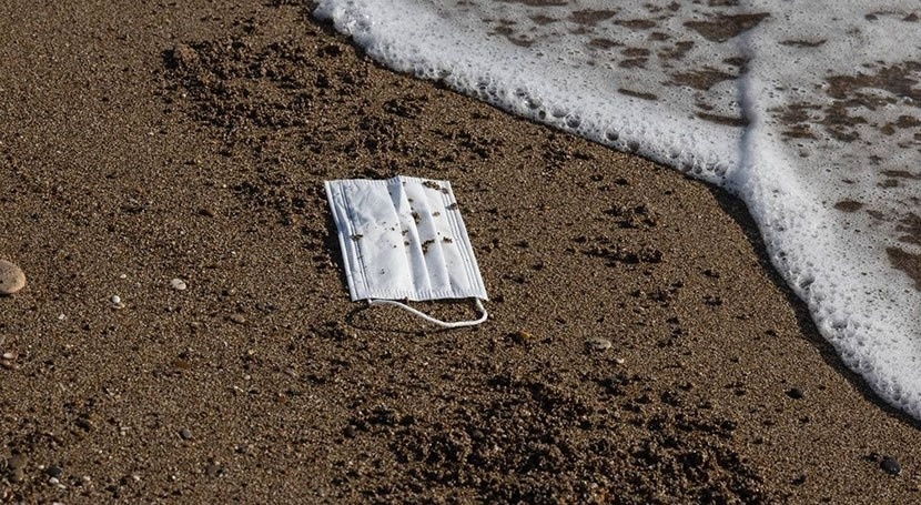 More microplastics are entering the ocean from disposable masks