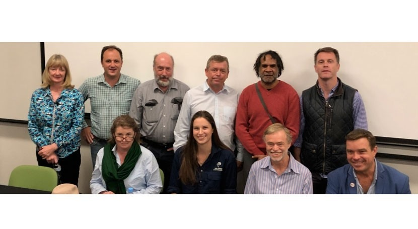 Discussing the future of the Murray-Darling basin, Australia