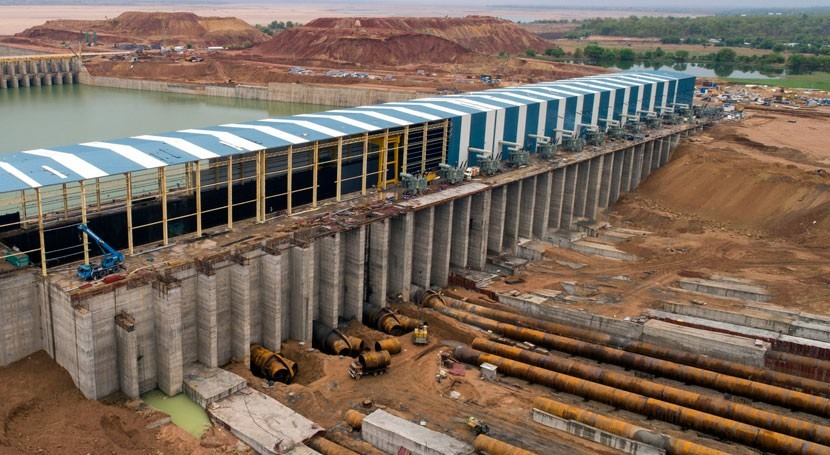 MEIL constructs the largest lift irrigation marvel