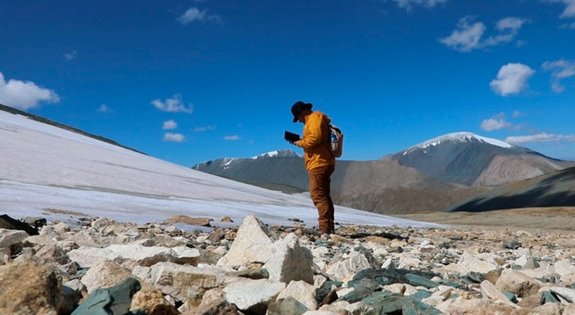 Melting Mongolian ice reveals fragile artifacts that provide clues about how past peoplelived