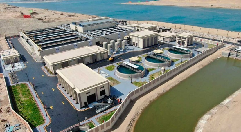 Egypt inaugurates the world's largest agricultural drainage treatment, recycling and reuse plant