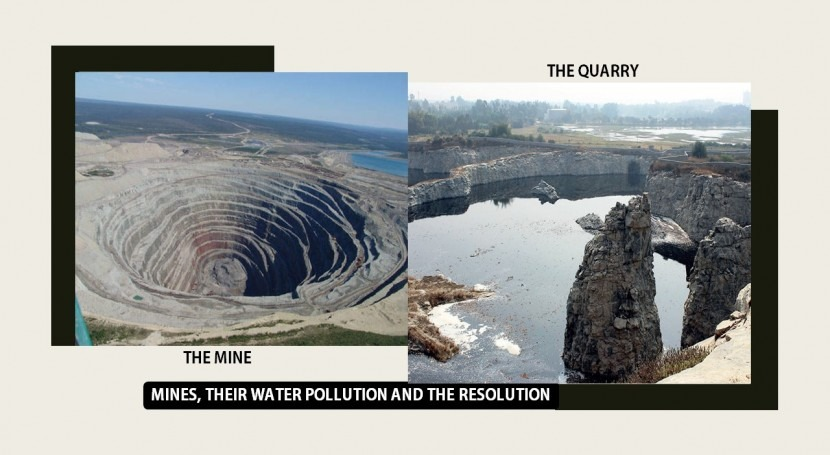 Mines, their pollution & resolution!
