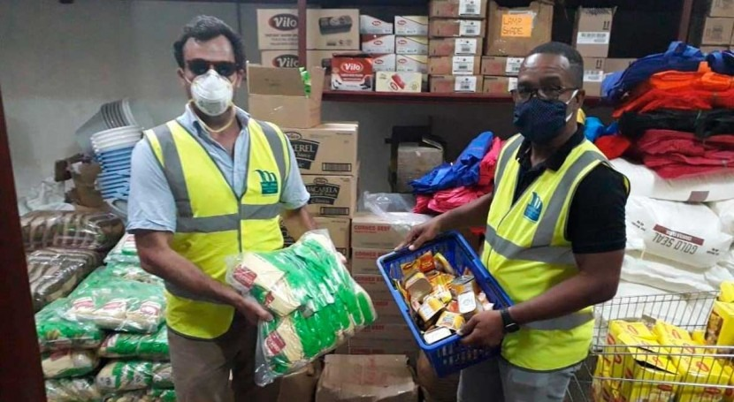Miya Jamaica donates relief supplies to COVID-19 affected communities in Jamaica