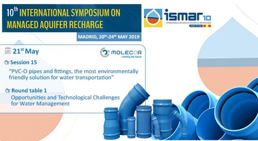 Molecor, sponsor and speaker at ISMAR10