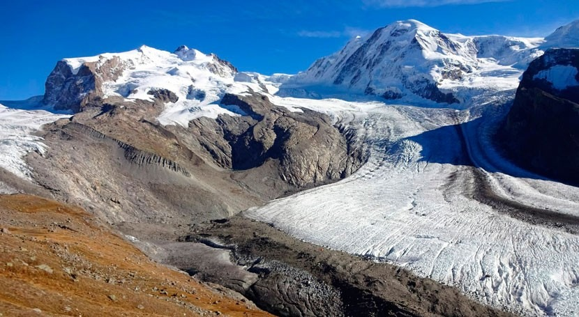 More than 90% of glacier volume in the Alps could be lost by 2100