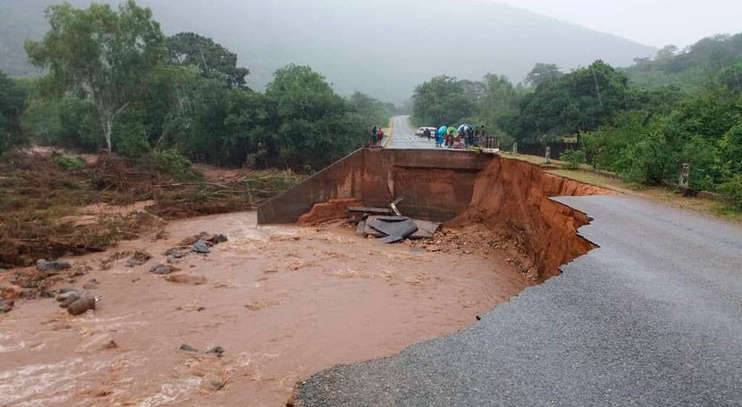 Mozambique flooding and response: both enormous in scale