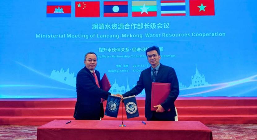 MRC inks first MOU for better upper-lower Mekong management