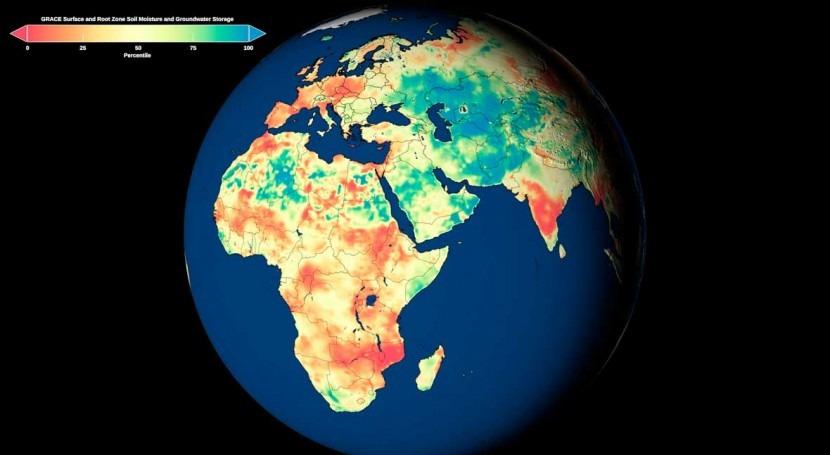 NASA, University of Nebraska release new global groundwater maps and U.S. drought forecasts