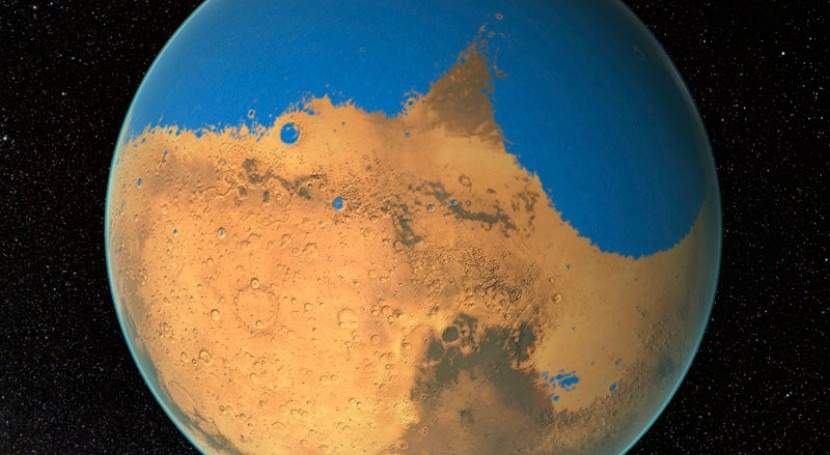 Why has Mars lost most of its water?