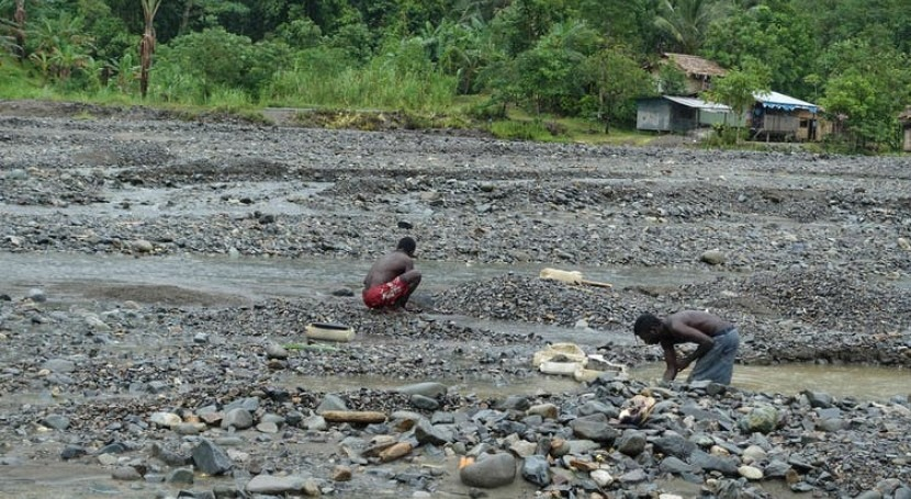 brutal war and rivers poisoned with every rainfall: how one mine destroyed an island