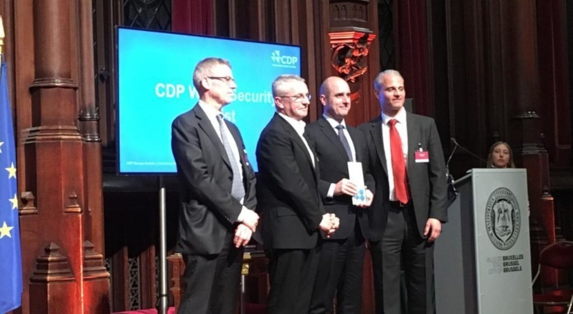 "ACCIONA awarded at the ""CDP Europe Awards"" for its sustainable water management"