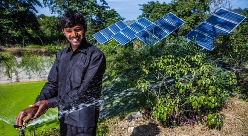 Project makes water from the sun for climate smart farming
