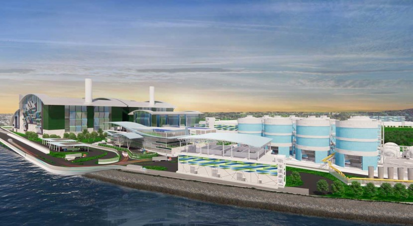 Singapore begins work on first integrated water and solid waste treatment plant in Tuas