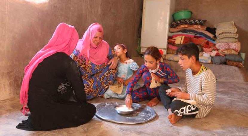 Rains improve harvests in Syria but families still struggle to survive
