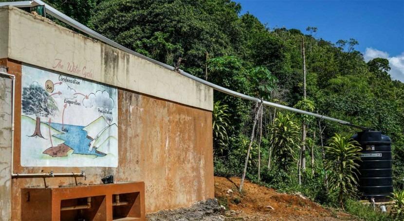 Rainwater harvesting as  method of climate change adaptation