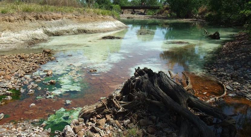 Rum Jungle: Cold War-era uranium mine that's spewed acid into the environment for decades
