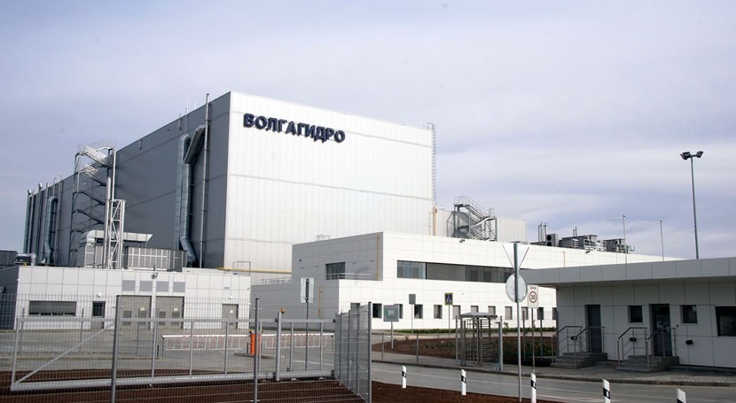 Voith subsidiary VolgaHydro inaugurates new production plant for hydropower turbines