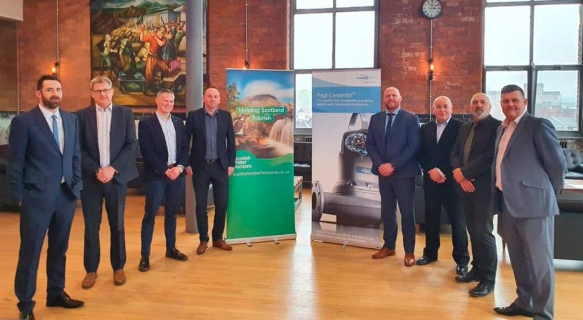 Scottish Water Horizons and Xylem Water Solutions announce new partnership