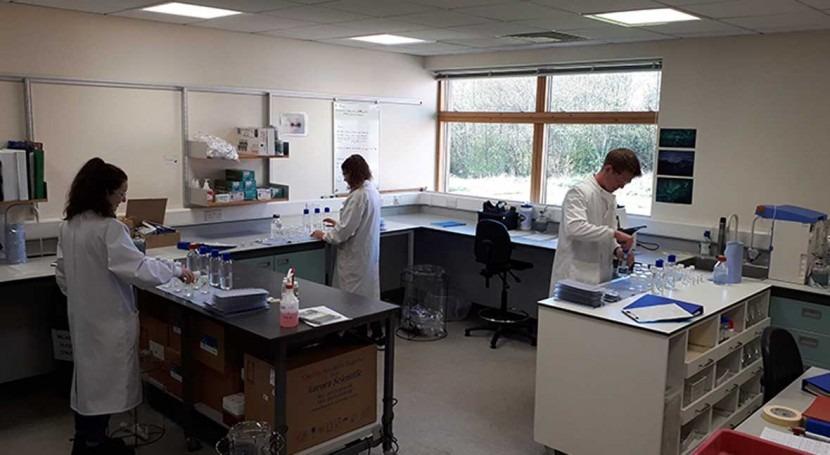 Scottish Water's Scientific Services team working amid coronavirus crisis