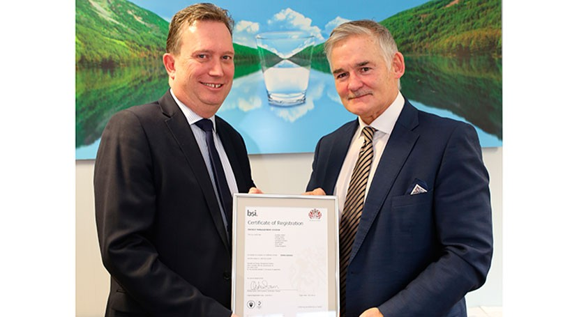 Scottish Water receives BSI Award for energy management
