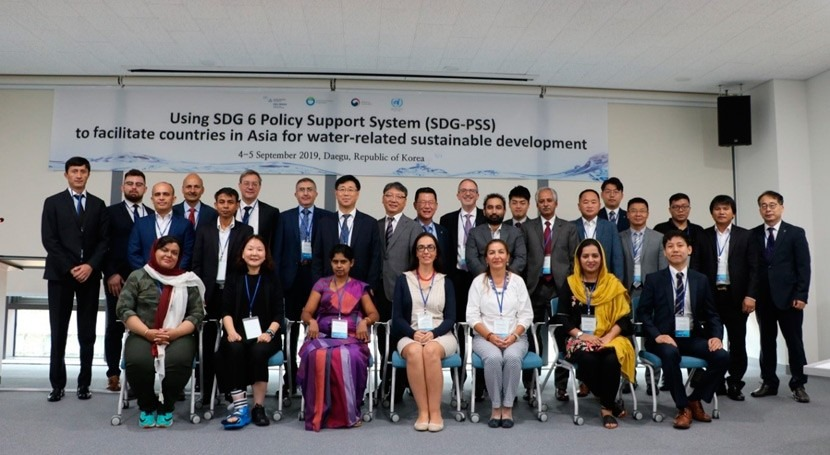 SDG 6 policy support system can help countries in Asia for water-related sustainable development