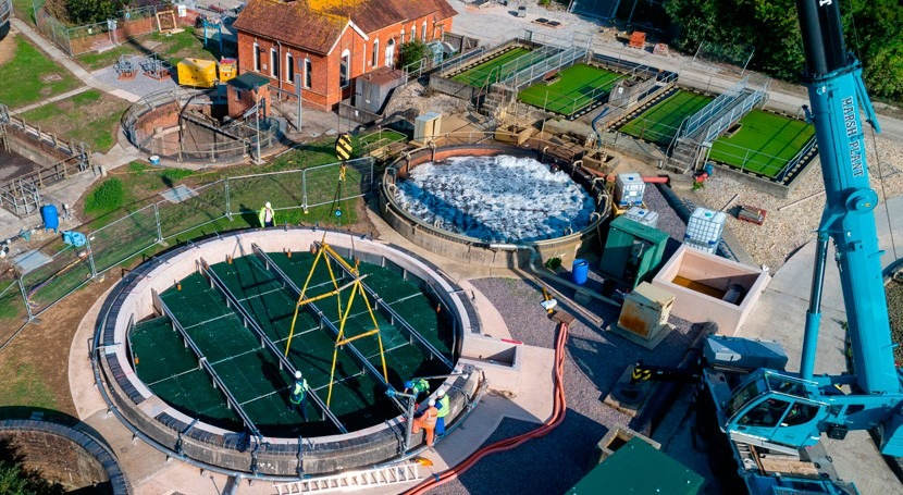 Securing wastewater treatment fit for UK's future population growth