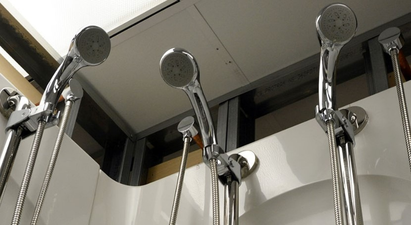 Understanding the microbial community hiding in our showers