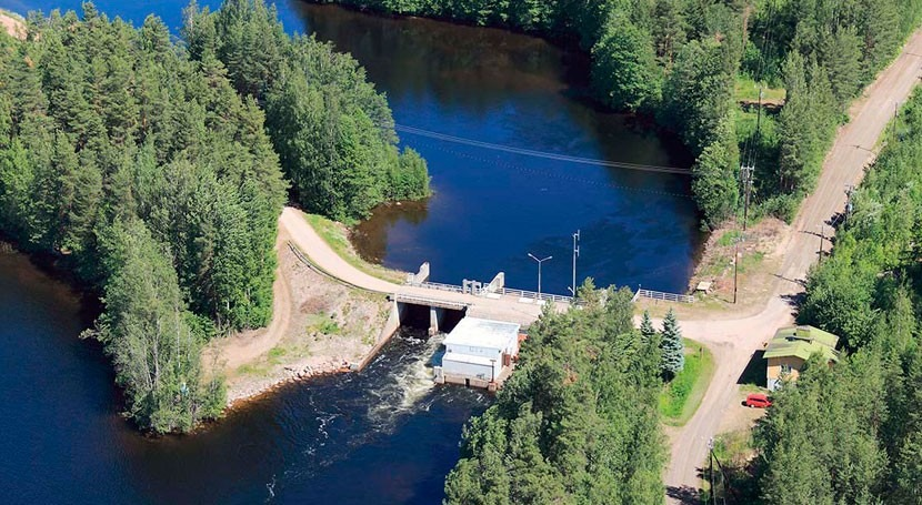New electric generator to double lifespan of Finnish hydro plant