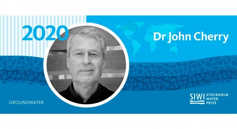 Groundwater expert, Dr John Cherry, wins 2020 Stockholm Water Prize