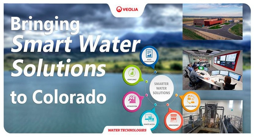 Veolia brings Smart Water Solutions to Colorado