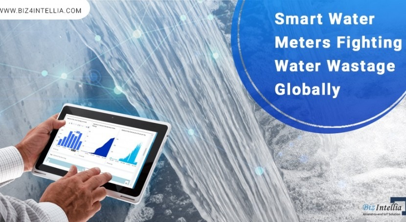 Smart water meters fighting water wastage globally