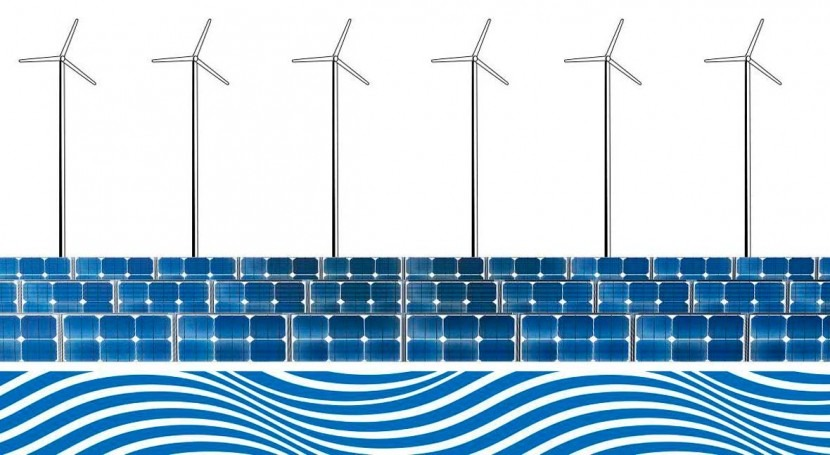 Solar and wind energy preserve groundwater for drought, agriculture
