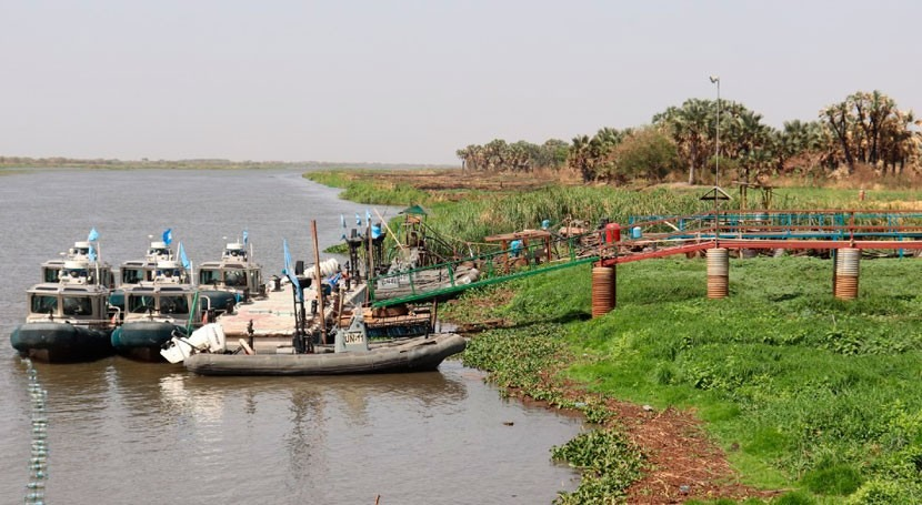 As the sun rises, the water flows: green humanitarian response in South Sudan