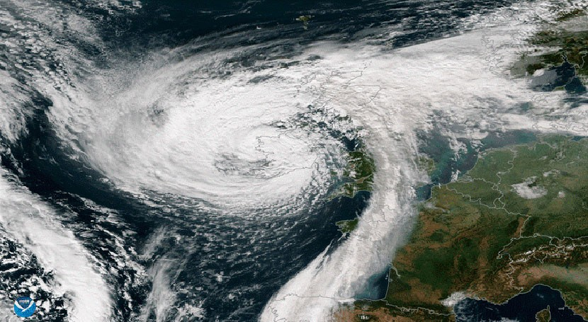 Severe storms from tropics reach Europe once every five years on average – new research
