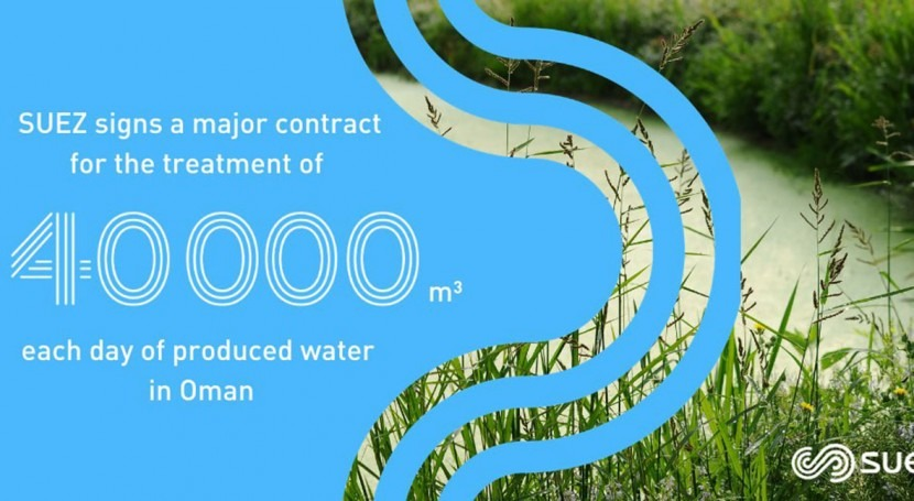 SUEZ wins contract for natural and environmentally friendly water treatment system in Oman