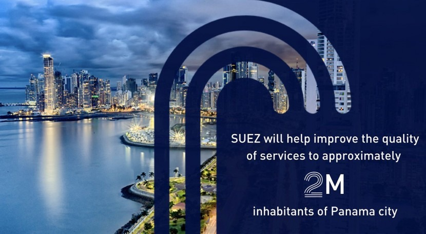 In Panama SUEZ wins contract to optimize the capital's drinking water network