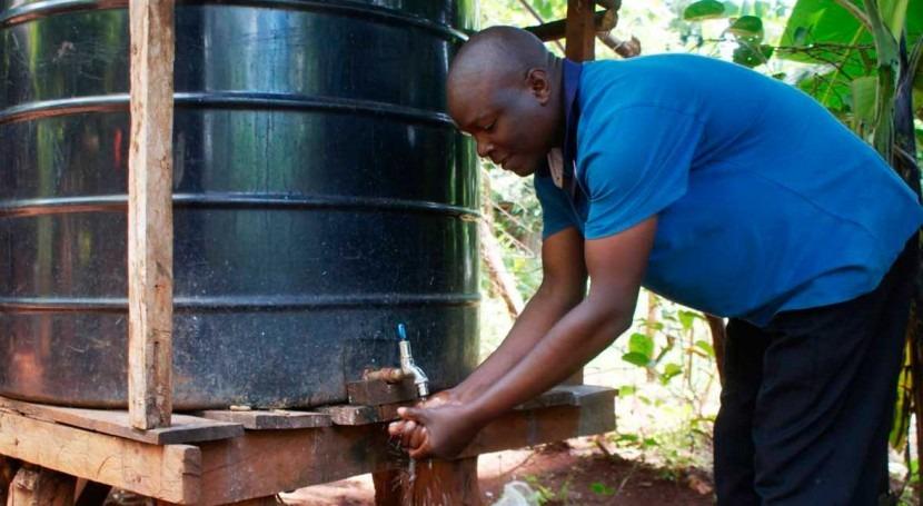 Kenya's push to harvest rainwater has new payoff: battling coronavirus