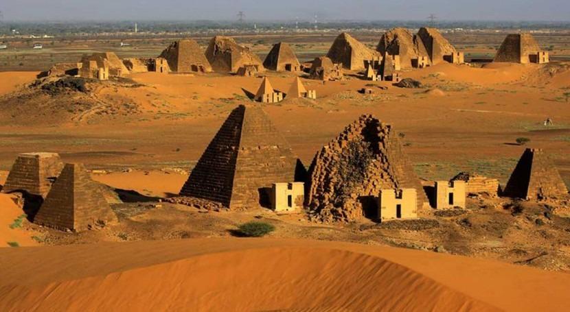 Record floods threaten pyramid sites in Sudan