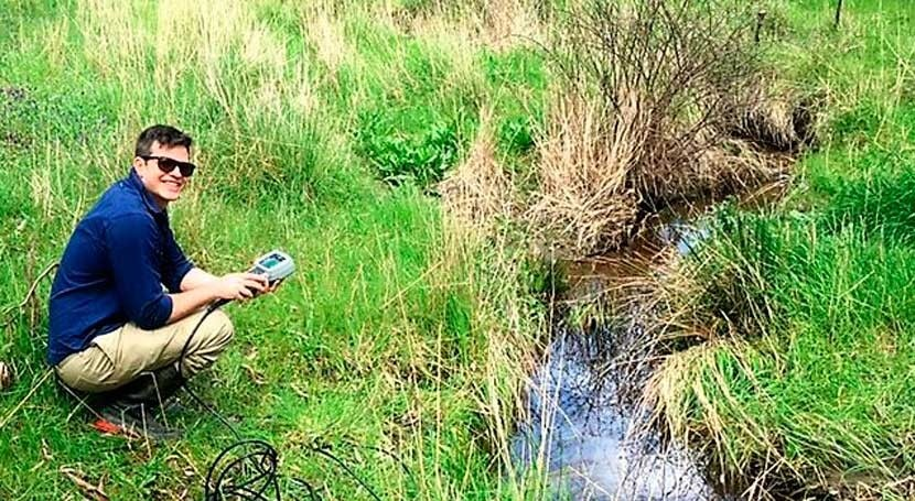 Water research discovers desalination of local streams