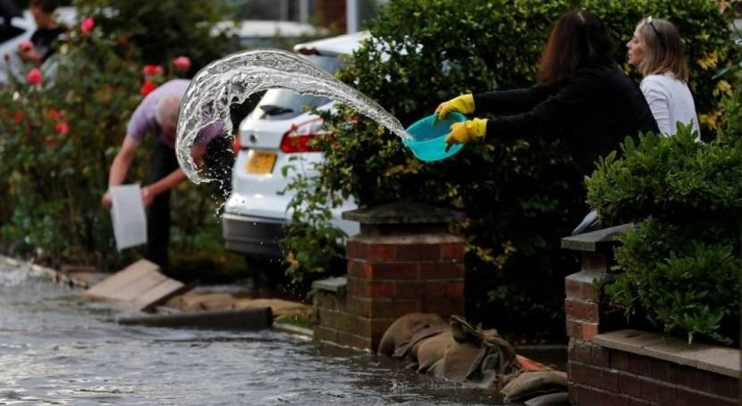 Rising risk: Flood damage now mental health threat in Britain