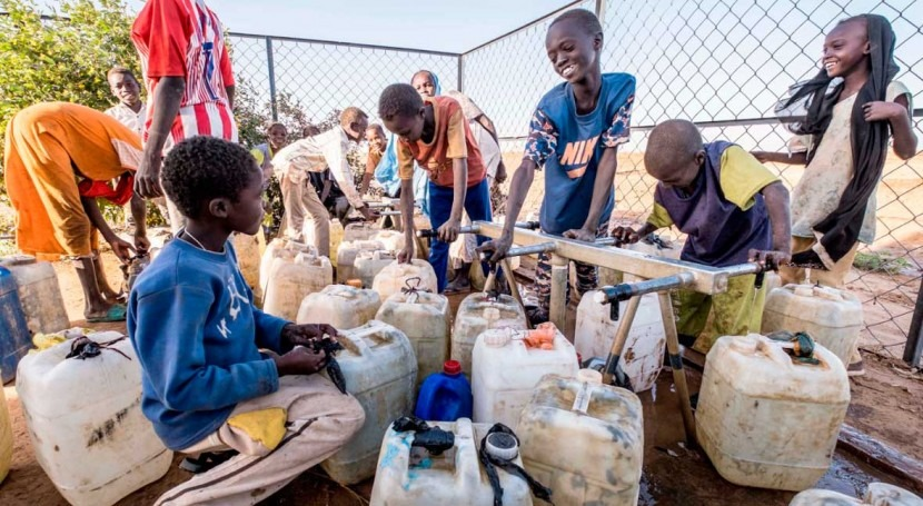 Sudan, Green Climate Fund & UNDP sign grant to support 3.7m people with climate-resilient water