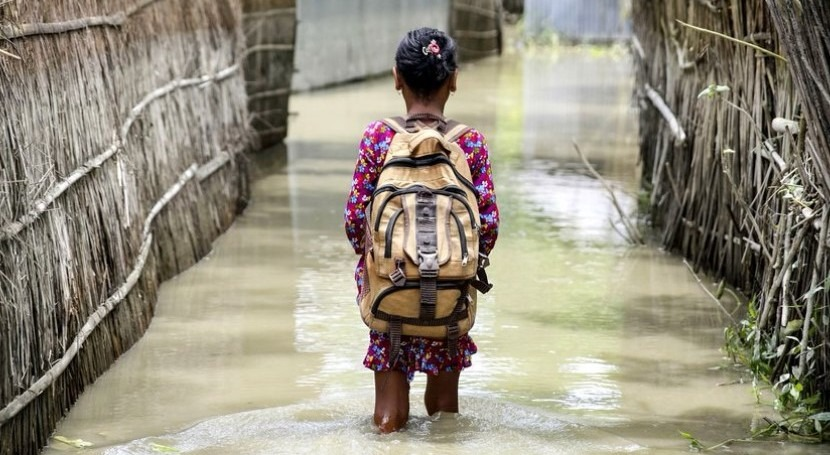 With deadly cyclones on the rise, UNICEF raises concern about impact of climate change on children