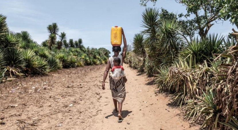 One in five children globally does not have enough water to meet their everyday needs
