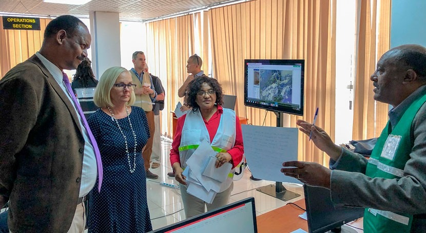 U.S. helping Ethiopia build disaster response capacity