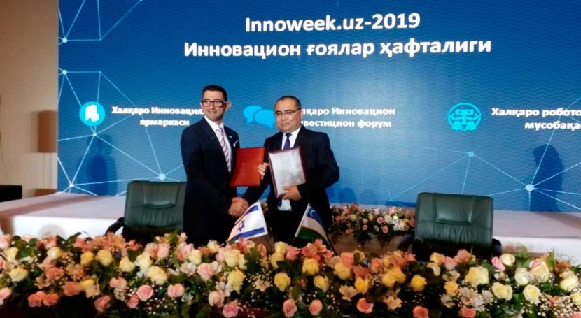 Uzbekistan signs MOU with Israel's Watergen to fight water shortage