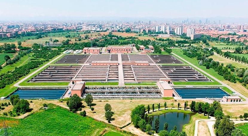 Veolia's AQUAVISTA™ Plant chosen to support wastewater operation at Milan Nosedo plant, Italy