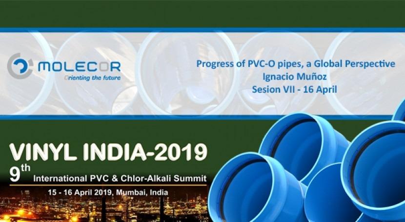 Molecor will participate at Vinyl India 2019